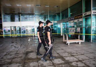 トルコの空港爆破事件