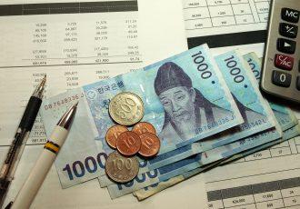 韓国の通貨ウォンと家計簿