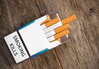 煙草のパッケージ