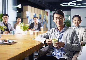海外で仕事を探す人用、台湾での職場