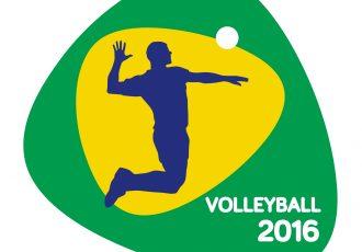 リオオリンピックのバレーボールロゴ