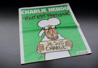 シャルリーエブド社の風刺画