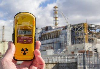 チェルノブイリ原発とガイガーカウンター