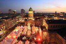 ジャンダルメン広場のクリスマスマーケット