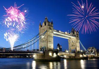 ロンドンの花火大会