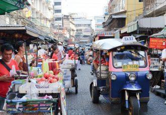 バンコクはタイの街並み
