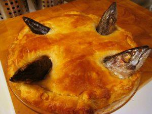 イングランド南部の伝統料理ニシンノパイ