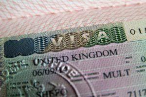 イギリスのビザ