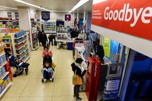 イギリスのスーパーで買い物