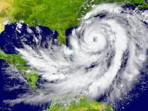アメリカのハリケーン