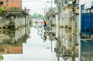 ブラジルの洪水