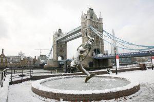 イギリスの大雪