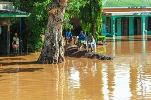 アフリカ・タンザニアでの洪水