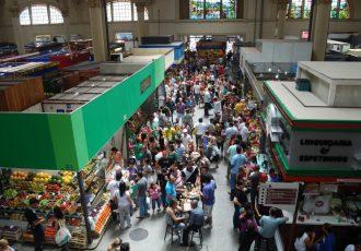 サンパウロのマーケット