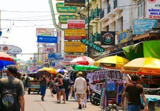 タイのストリート