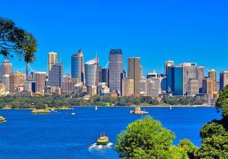 オーストラリアのビル街