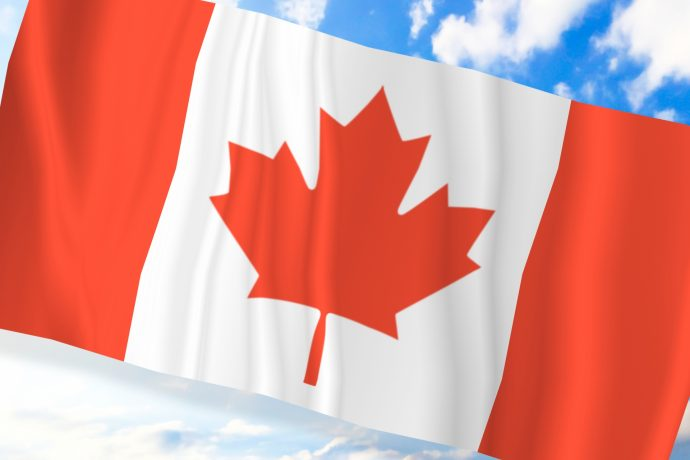 カナダの国旗