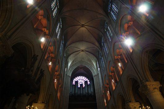interior of Cathédrale Notre-Dame