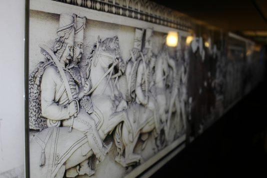 Historical picture of Arc de triomphe, Paris, France