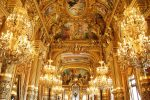 interior of Palais Garnier in paris