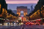 road to Arc de Triomphe, paris
