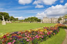 Jardin-du-Luxembourg in paris