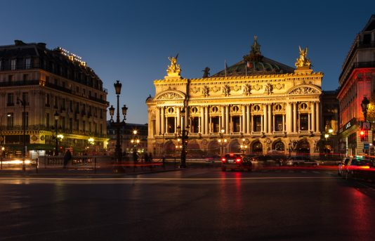 exterior of Palais Garnier, paris