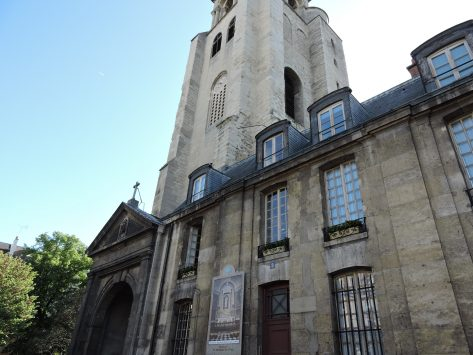 Abbey-of-Saint-Germain-des-Pres in paris