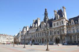 exterior of Hôtel de Ville de Paris