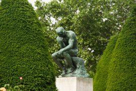 Auguste Rodin The Thinker paris