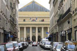 exterior of Théâtre de l'Odéon, paris