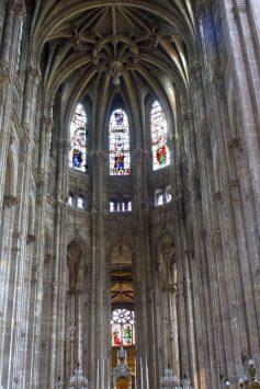 interioro of Eglise Saint Eustache, paris