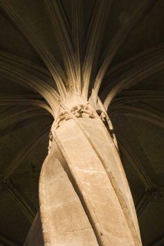 interior of Eglise Saint-Severin, paris