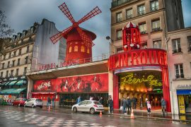 La Machine du Moulin Rouge in paris