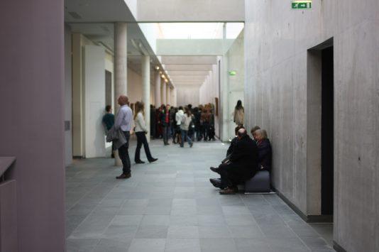 オランジュリー美術館の館内構造