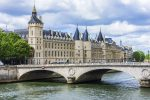 view of Conciergerie in paris