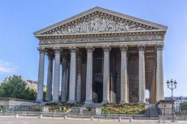 Eglise du la Madeleine in paris