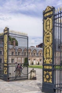 entrane gate of Palas Fontainebleau