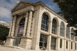 exterior of Jeu de Paume in paris