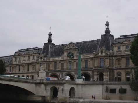 exterior of Musee Eugene-Delacroix, paris