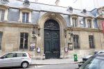 in front of Musee Nissim de Camondo in paris
