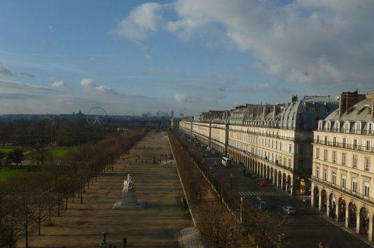 exterior of Musee des Arts decoratifs, paris