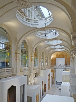interior of Musee des Arts decoratifs, paris