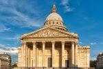 exterior of Panteon, paris