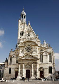 exterior of St. Etienne du Mont