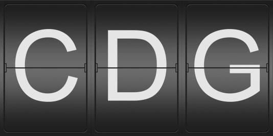 logo of cdg