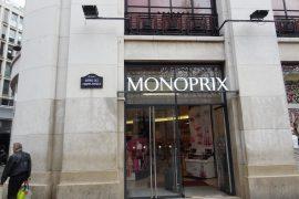 monoprix in paris