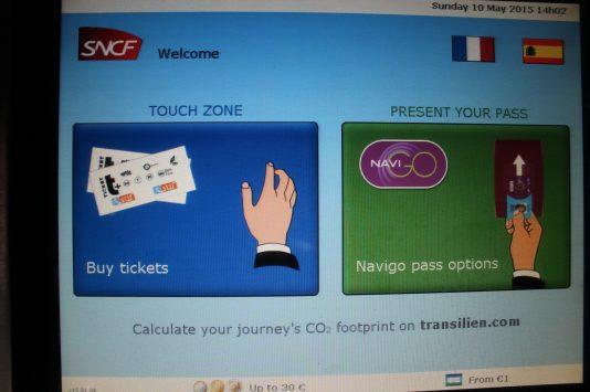 SNCF in Paris
