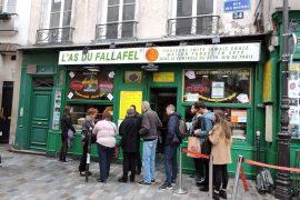 Las du Fallafel in Paris