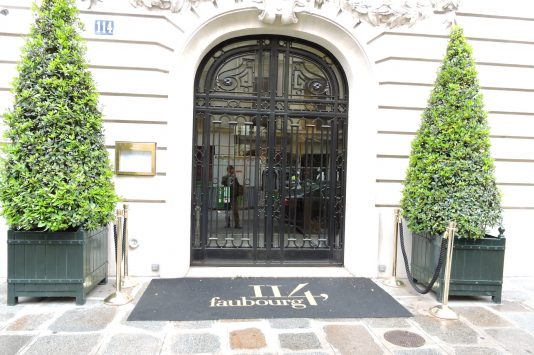 Le 114 Faubourg in Paris